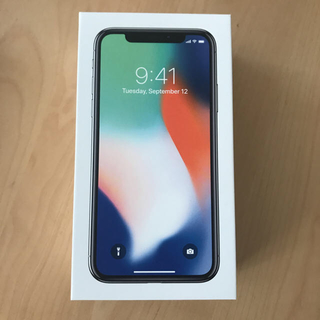 アイフォーン(iPhone)のクーポン可docomo iPhone X 64GB SIMロック後日解除対応可(スマートフォン本体)