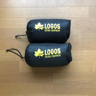 ロゴス(LOGOS)のLOGOS 丸洗いピロー 2個セット(寝袋/寝具)