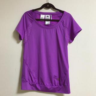 アディダス(adidas)のアディダスadidasランニングTシャツ 半袖 レディース クライマクール(ウェア)