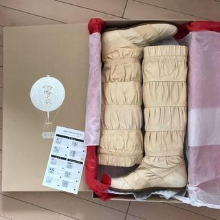 サロン(SALON)の新品 サロン★牛革ロングブーツ 定価8万6100円(ブーツ)