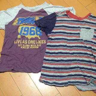 ジーユー(GU)のgu ニッセン 130 Tシャツ 2枚セット(Tシャツ/カットソー)