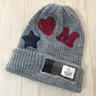 シマムラ(しまむら)のハリスツイード コラボ キッズ ニット帽(帽子)