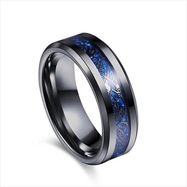 ドラゴンデザイン指輪 ステンレス チタン リング ¥1,980送料込すぐに購入可 メンズのアクセサリー(リング(指輪))の商品写真