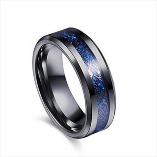 ドラゴンデザイン指輪 ステンレス チタン リング ¥1,980送料込すぐに購入可(リング(指輪))