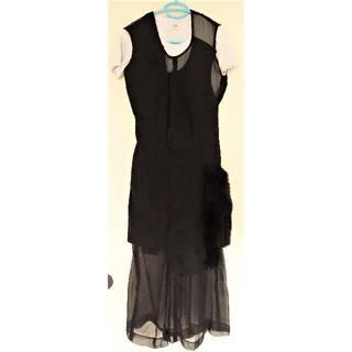 コムデギャルソン(COMME des GARCONS)のコムデギャルソン 黒 ドレス ワンピース(確認用)(ロングワンピース/マキシワンピース)