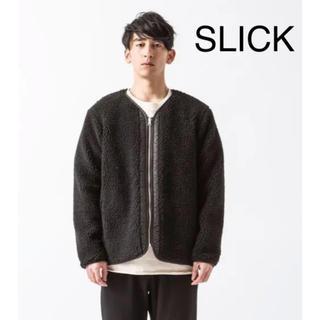 スリック(SLICK)の[新品タグ付き]SLICK ボアジャケット フリース リバーシブル(ブルゾン)