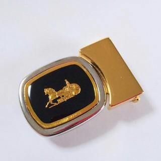 セリーヌ(celine)の【売約済み】CELINE オールドセリーヌ 馬車金具 バックル イタリア製 美品(ベルト)
