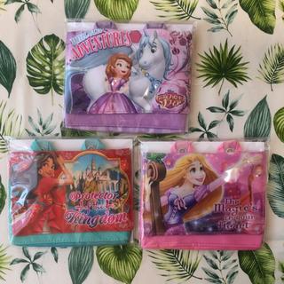 ディズニー(Disney)の新品♡プリンセス♡マルチポケット♡ソフィア、ラプンツェル、エレナ♡3つセット(その他)