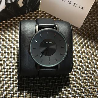 ダニエルウェリントン(Daniel Wellington)のKlasse14 42㎜ メンズ レディース ブラック 即購入ok(腕時計(アナログ))