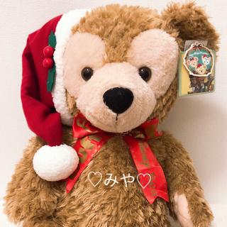 ダッフィー(ダッフィー)のダッフィー クリスマス ぬいぐるみ Mサイズ 送料込み(ぬいぐるみ)