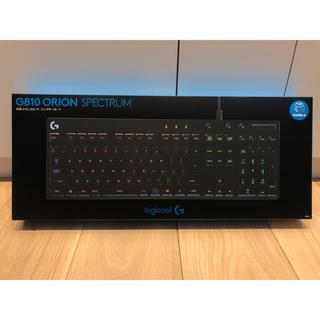 Logicool G810 ゲーミングキーボード(PC周辺機器)