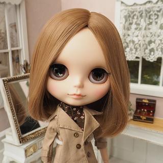 ネオブライス ウィッグ センターパートロブ MiB 10インチ Blythe(人形)