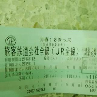 青春18きっぷ4回分12/10発送送料込み(鉄道乗車券)