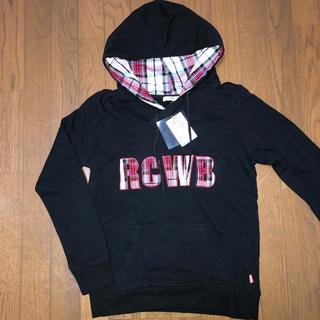 ロデオクラウンズワイドボウル(RODEO CROWNS WIDE BOWL)のロデオ パーカー 新品 ロゴ  チェック(パーカー)