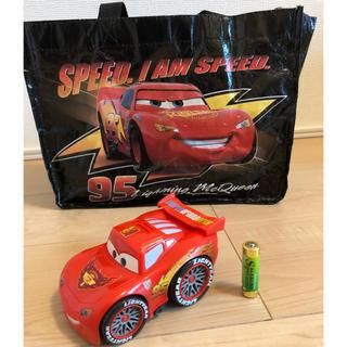 ディズニー(Disney)のカーズおもちゃ+手提げ袋(電車のおもちゃ/車)
