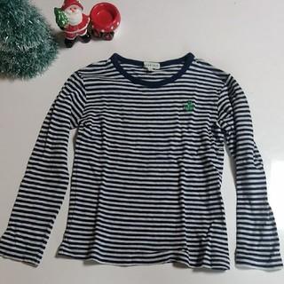 サンカンシオン(3can4on)の3can4on★ボーダーロンT 110 120(Tシャツ/カットソー)
