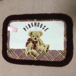 ピンクハウス(PINK HOUSE)の未使用品!ピンクハウス くまちゃんバスマット (バスマット)