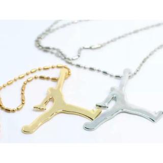 ナイキ(NIKE)の海外 直輸入 HIPHOP JORDAN GOLD silver ネックレス(ネックレス)