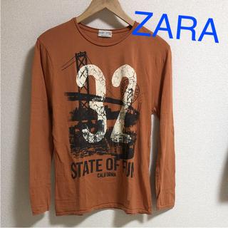 ザラ(ZARA)の新品 ZARAボーイズ 160〜165くらい ロンT  昨年購入  (Tシャツ/カットソー)