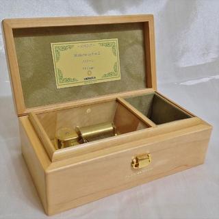 サンキョー(SANKYO)の高級30弁 オルゴール オルフェウス 木製 メイプル ノクターン(オルゴール)