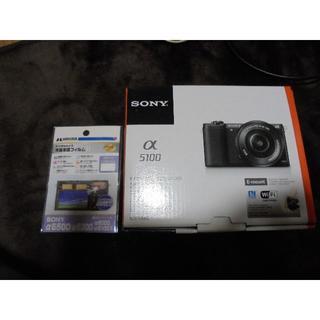 SONY α5100パワーレンズキット ILCE-5100L(ミラーレス一眼)