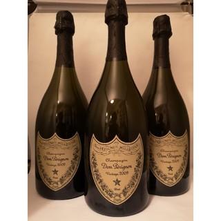 ドンペリニヨン(Dom Pérignon)の3本セット🥂🥂🥂Dom Perignon 2009 ドン・ペリニヨン(シャンパン/スパークリングワイン)