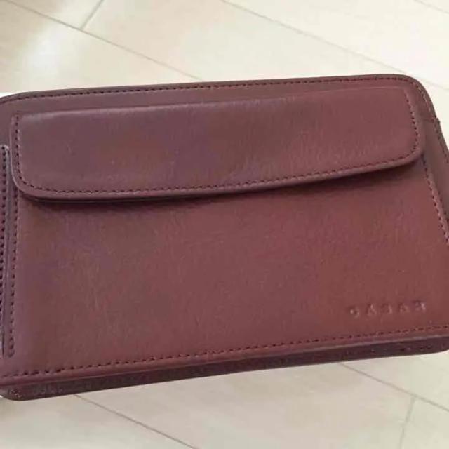 CASAR(シーザー)のcasar IKETEI 牛皮 セカンドバッグ メンズのバッグ(セカンドバッグ/クラッチバッグ)の商品写真