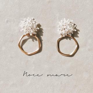 -pearl ring- 残りわずか(ピアス)
