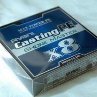 VARIVAS アバニ キャスティングPE mパワー X8 ショアマスター1.5(釣り糸/ライン)