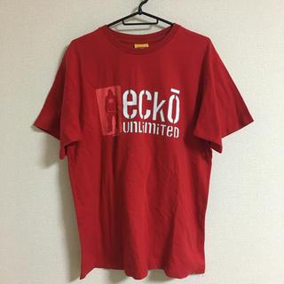 エコーアンリミテッド(ECKO UNLTD)のTシャツ THE ECKO UNLTD CO エコーアンリミテッド 赤(Tシャツ/カットソー(半袖/袖なし))