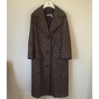 サルヴァトーレフェラガモ(Salvatore Ferragamo)の【専用】Ferragamo ラインの綺麗な上品ウールコート  ロングコート(ロングコート)