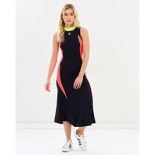 アディダス(adidas)のオマケあり!新品 adidas ニットドレス KNIT DRESS オリジナルス(ひざ丈ワンピース)