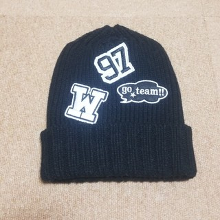 ジーユー(GU)のGU ニット帽子(ニット帽/ビーニー)