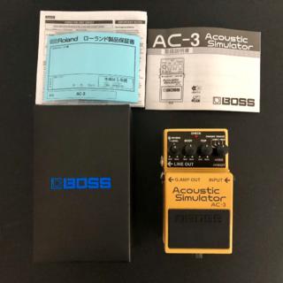 ふーる様専用 BOSS AC-3 アコースティック シミュレーター 美品 ボス(エフェクター)