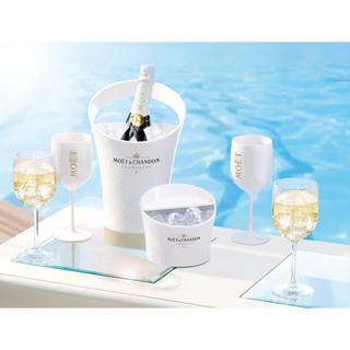 モエエシャンドン(MOËT & CHANDON)の🍾限定販売モエシャングラスセット✨モエ エ シャンドン アイス アンペリアル(シャンパン/スパークリングワイン)