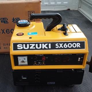 スズキ 発電機 SX600R 新品同様 アウトドア 夜釣り 災害時など(防災関連グッズ)