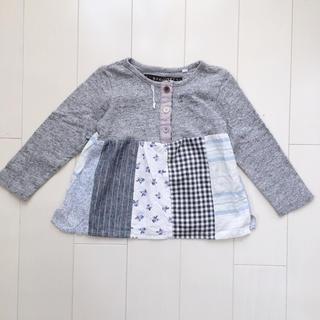 エスティークローゼット(s.t.closet)のS.T CLOSET パッチワークカットソー 90 長袖(Tシャツ/カットソー)