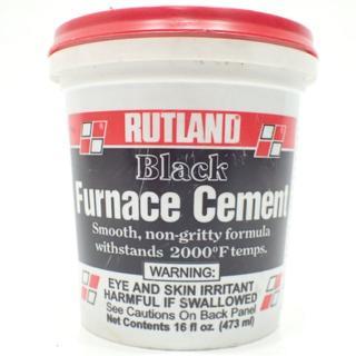 C289 RUTLAND ルトランド 耐火セメント ブラック #64 473ml(ストーブ)