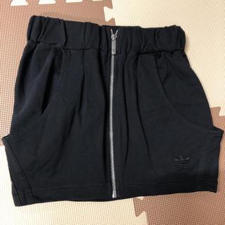 アディダス(adidas)の💓ロゴ入り スリーライン スカート💓(ミニスカート)