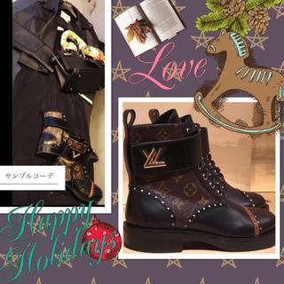 ルイヴィトン(LOUIS VUITTON)の限定SALE⭐︎世界完売 プレミア品⭐️ヴィトン ブーツ25.5 美品🔶(ブーツ)
