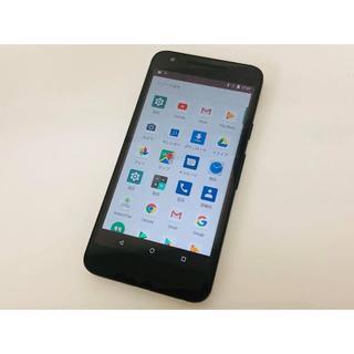 エルジーエレクトロニクス(LG Electronics)のSIMフリー 美品 Y!mobile Nexus 5X 32GB 〇判定 送料込(スマートフォン本体)
