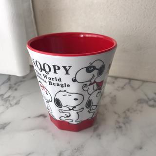 スヌーピー(SNOOPY)の【スヌーピー】メラミンカップ(グラス/カップ)