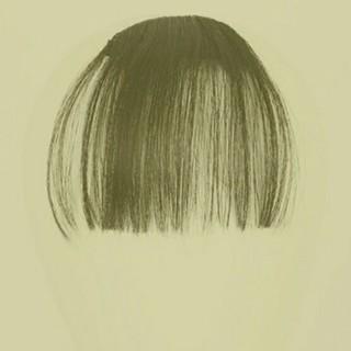 送料無料 前髪 ウィッグ 付け毛(前髪ウィッグ)