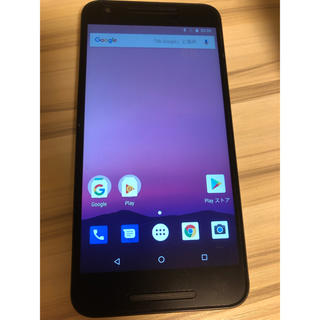 Nexus5x 32GB ホワイト(スマートフォン本体)