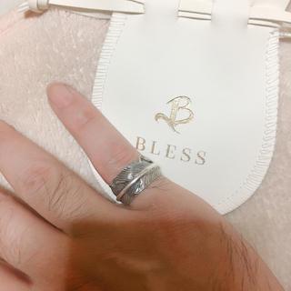 ブレス(BLESS)のBLESS フェザーリング 11号〜19号 ゴローズ好きに(リング(指輪))