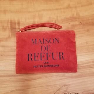 メゾンドリーファー(Maison de Reefur)のMAISON DE REEFUR ベロアポーチ(ポーチ)