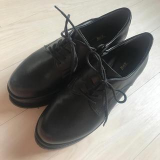 アールアンドイー(R&E)のR&E厚底レースアップシューズ(ローファー/革靴)