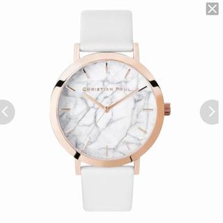 クリスチャンポー(CHRISTIAN PEAU)のクリスチャンポール マーブルコレクション(腕時計)