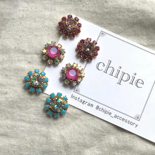 ザラ(ZARA)の再∞販 bijou flower pierce /earring(ピアス)