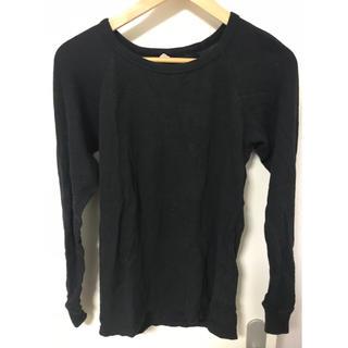 ゴーヘンプ(GO HEMP)のgo hemp ゴーヘンプ 長袖ワッフルTシャツ L(Tシャツ/カットソー(七分/長袖))